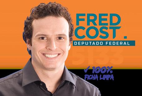 Fred Costa inicia campanha para deputado federal